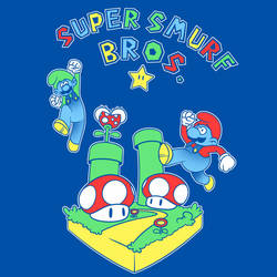 Super Smurf Bros. by Endless-Ness