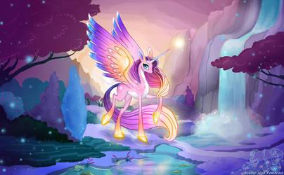 My Little Pony Shinerise by BJPentecost