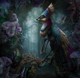 Pentecost Rainbow Gryphette by BJPentecost
