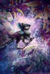 Rainbow Cachobie Gryphette by BJPentecost