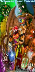 Super Metroid Tribute by KrystallWolvelt