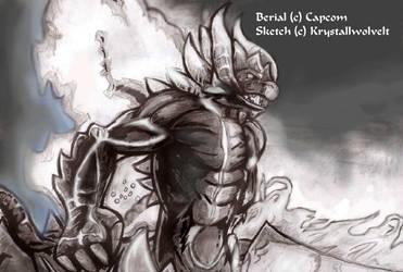 Devil may cry 4: berial by KrystallWolvelt