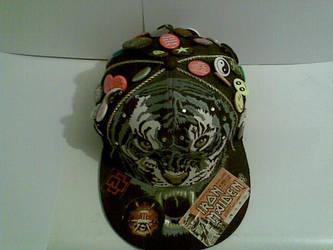 My custom tiger cap by KrystallWolvelt