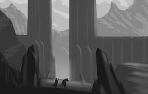My second sketch by Syddarta