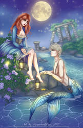 C: Elizabeth and Caspian by PeppermintRain