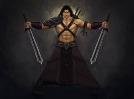 Barbarian by adammiconi