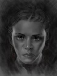 Womans Portrait by adammiconi