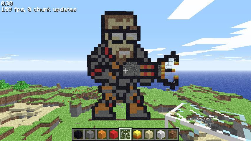 Minecraft Classic G Freeman By Robotakee On Deviantart