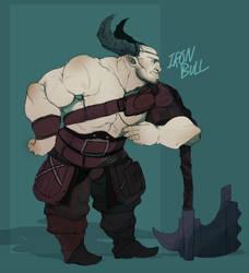 Iron Bull by ChillyKuma-Kuma