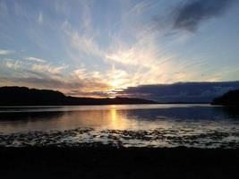 Scottish Sunset by XAbiit