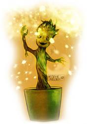 Baby Groot by Steve-Nice