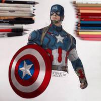 Captain America by Steve-Nice