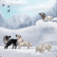 Collab - Exploring - Winter Wonderland by EventideCreatures