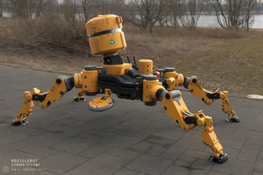 RecycleBot by BlazenMonk