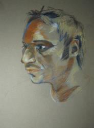 Portrait of Josh by WaywardDistrict