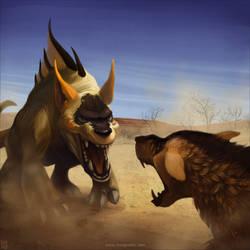 Dinosaurers by shingworks