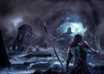The Maelstrom Cover Art by Mikedeangelo