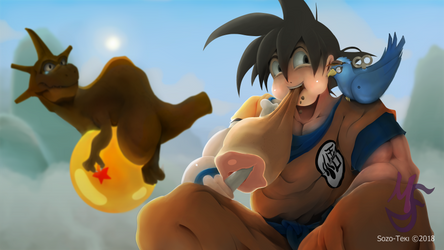 Dragon Ball Super Tribute by sozo-teki