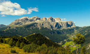 Sella Mountains by bongaloid