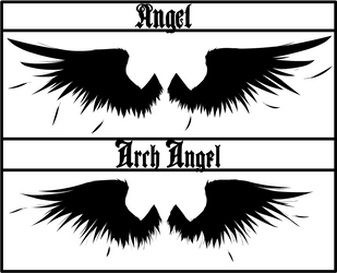 Tattoo: Angel, Arch Angel by Kenji-Himonatashi