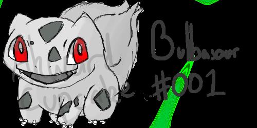 Bulbasaur #001 by AkwardCupcake
