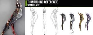 Turnaround - Ax by CGCookie