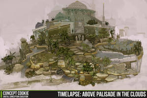 Timelapse: Above Palasade in the Clouds by CGCookie