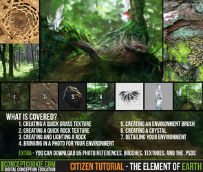 Citizen Tutorial - The Element of Earth by CGCookie