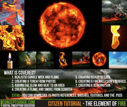 Citizen Tutorial - The Element of Fire by CGCookie