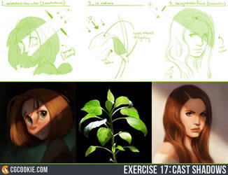 Exercise 17: Cast Shadows by CGCookie