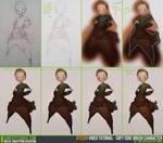 Soft Edge Brush Character Video Tutorial by CGCookie