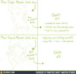 Exercise 37 Practice Sheet: Master Studies by CGCookie