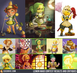 Lemon Maid Contest Results and Critiques by CGCookie