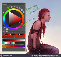 Tutorial: The Coolorus Color Wheel by CGCookie