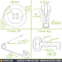 Exercise 52 Practice Sheet: Macro Studies by CGCookie