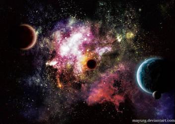 stars playground II by MAYURG