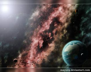 Nebulae II by MAYURG