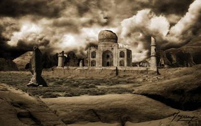 Taj-Mahal by MAYURG