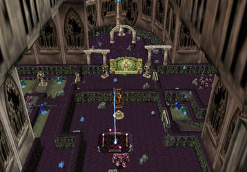Cathedrale of the Dead by NebulaLupus