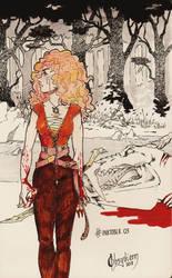 Day 3 - Shima Wolfar - Arc two by Obsydienn