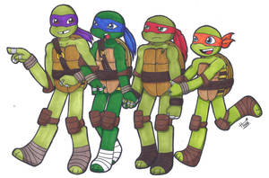 Turtles First by flowerbanana