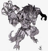 Lycanthrope by SilverLycanthrope