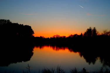 Sundown. by Meowine