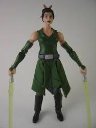 Custom Star Wars Clone Wars Keelyvine Reus Figure by Mandalore2525