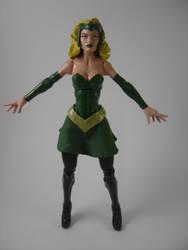 Custom Marvel Legends Amora the Enchantress figure by Mandalore2525