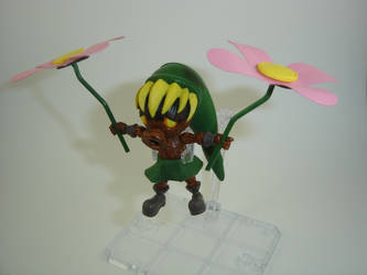 Custom Legend of Zelda: Majora's Mask Deku Link by Mandalore2525