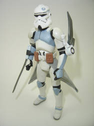 Custom Star Wars Clone Assassin Action Figure by Mandalore2525