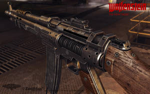 Assault Rifle 1946 rear view by panick
