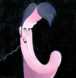 Bruce Campbell Caricature by aaronphilby