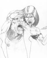 Angelique Sketch by markg